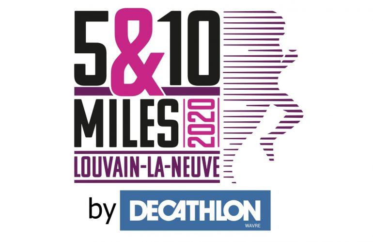 Annulation des 5&10 Miles 2020 de Louvain-la-Neuve